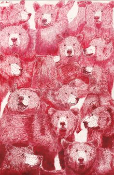 grizzlia:  GRIZZLY BEARS R METAL (made with red ink and love)