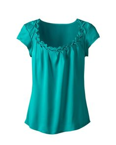 This or in purple?  Love the neckline.