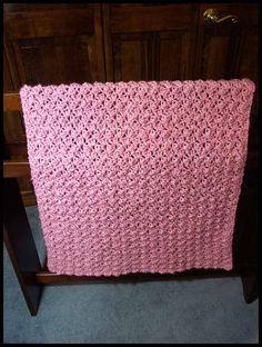 "Bubbles Baby Blanket, 27"" x 38.5"", $50."