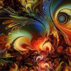Secret Life of a Fractal by ~titiavanbeugen