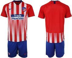 Atlético Madrid Football club Nike Home Trainig Kit 2018-19 FÚTBOL SOCCER  CALCIO SHIRT JERSEY 6cab1a51102