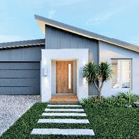 Home Exterior Design Ideas & House Style Boards | Hallmark Homes Build Your Own House, Build Your Dream Home, First Home Owners, Double Storey House, Hallmark Homes, Alfresco Area, Home Design Floor Plans, Storey Homes, Display Homes