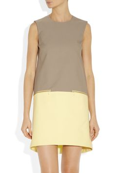 Victoria,Victoria Beckham Faille shift dress - 50% Off Now at THE OUTNET