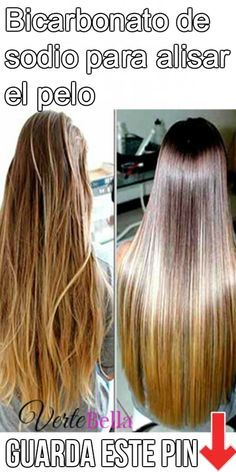 Bicarbonato de sodio para alisar el pelo Baking soda to straighten hair. Today we tell you how to straighten your hair with baking soda. Beauty Care, Diy Beauty, Beauty Hacks, Cabello Hair, Hair Looks, Healthy Hair, My Hair, Natural Remedies, Curly Hair Styles
