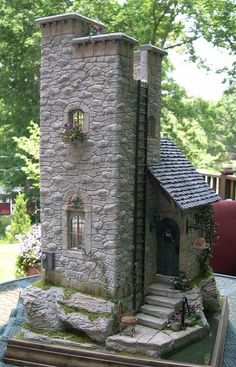 We have put together the best collection of Miniature Stone Fairy Houses to die for. Learn how you can make your own using a Plastic Bottle!