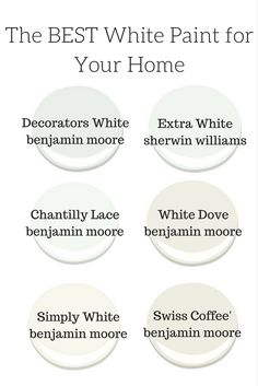 Kitchen Paint Colors With Cherry White Trim 63 Ideas Best White Paint, White Paint Colors, Bedroom Paint Colors, White Paints, Wall Colors, Room Colors, Sherwin Williams Sea Salt, Hale Navy, Kelly Moore