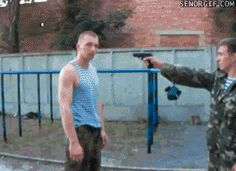 "breelandwalker: "" rangerkimmy: "" driftingfocus: "" Take note: this is how to properly disarm someone. Always go to the outside of the arm, not the inside. "" ah yes I have been doing it wrong the whole..."