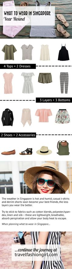 If you're looking for what to wear in Singapore, you've come to the right place! Veena McCoole, a Singapore local, shows you how and what to pack for your trip any time of the year. http://travelfashiongirl.com/what-to-wear-in-singapore-vacation-tips-from-local-fashion-blogger/ via @travlfashngirl #packing #list #travel