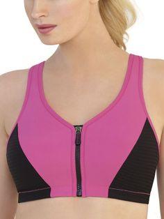 Glamorise High Impact Zipper Sports Bra, Available at #EssentialApparel