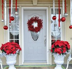 40 Cool DIY Decorating Ideas For Christmas Front Porch  Family Holiday