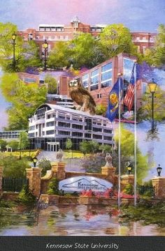 Kennesaw State University by  Anni Moller  www.thegallery.us