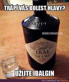 Good Humor, Good Jokes, Funny Images, Vodka Bottle, Haha, Alcohol, Memes, Pranks, Pictures
