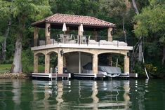 Boat Dock House Designs | Before And After Photos Of Boat Dock Renovations and Remodels