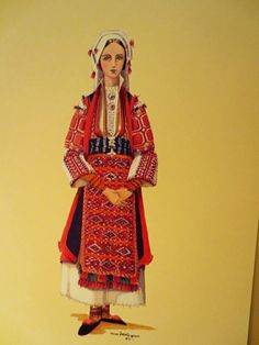 12 Vintage Engravings Traditional Greek Costumes | eBay