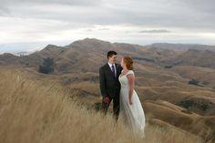 Jed and Kat's Wedding. Te Mata Peak, Hawkes Bay. Josh Neilson Photography.