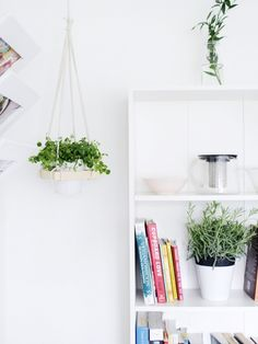 How to make a square hanging planter