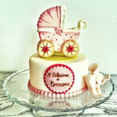 Topper cakes battesimo