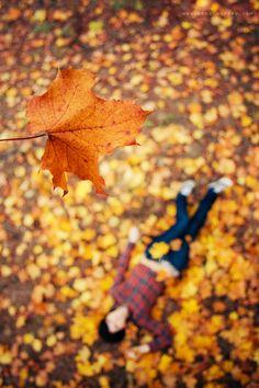 ...falling in autumn... by OlegBreslavtsev.deviantart.com on @deviantART