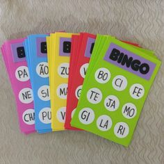 Bingo for my open House day. Phonics Activities, Kindergarten Activities, Preschool Activities, Kindergarten Reading, Home Schooling, School Classroom, Kids Education, Educational Toys, Elementary Schools