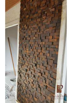 3d Design, House Design, Exterior Wall Design, Mosaic Art, Cladding, Firewood, New Homes, Architecture, Building