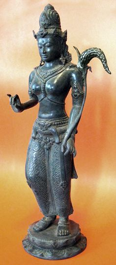 Dewi Sri, or Shridevi (Dewi literally means goddess) (Javanese), Nyai Pohaci Sanghyang Asri (Sundanese) is the Javanese, Sundanese, and Balinese pre-Hindu and pre-Islam era goddess of rice and fertility, still widely worshipped on the islands of Bali and Java. Despite her mythology is native to the island of Java, after the adoption of Hinduism in Java as early as first century, the goddess is associated with the Hindu goddess Lakshmi as both are attributed to wealth and family prosperity.