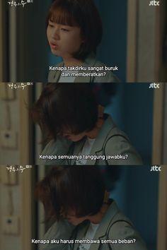 Quotes Drama Korea, Drama Quotes, Korea Wallpaper, Deep Talks, Reminder Quotes, Hijab Fashion, Captions, Kdrama, Qoutes