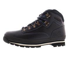 Timberland Mens Eurohiker Boots Navy Blue/Black 6601A Size 10