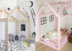nr. 1: Gevonden op webstagra   nr. 2: mommo design- HOUSE SHAPED TODDLER BEDS