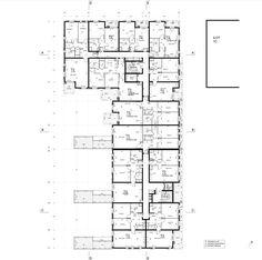 Æèëîé êîìïëåêñ Version Rubis © Jean-Paul Viguier Architecture Plan Drawing, Apartment Plans, Affordable Housing, Jean Paul, Urban Planning, Urban Design, Architecture Plan, Residential Architecture, Social Housing