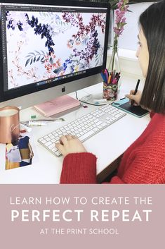 Ready to learn how to create a perfect repeat? Well, now you can! Enrol in our Photoshop for Textile Design: Repeat Module online course and become the design pro you've always wanted to be! ENROL NOW! Textile Courses, Textile Design, Online Courses, Repeat, Photoshop, Textiles, Learning, Create, School
