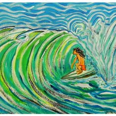 #surf art 018 from wgilroy's Seaside gallery for $20.00