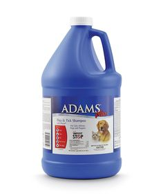 Adams Plus Flea and Tick Dog and Cat Shampoo with Precor, 1-Gallon *** Check out this great image  : Dog supplies for health