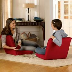 5-Position Floor Chair-Set of 2