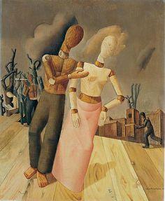 Felix Nussbaum (Germany, 1904 - Auschwitz, 1944)  Puppets, 1943