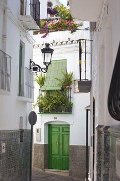 Green Door, Competa, Spain.