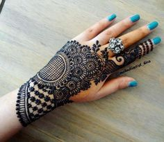 Wedding Henna Tattoo Designs - this is latest collection 100 Henna Designs for Wedding on Hand Brides for Beginners. all designs look very beautiful Back Hand Mehndi Designs, Latest Bridal Mehndi Designs, Full Hand Mehndi Designs, Mehndi Designs For Beginners, Mehndi Designs For Girls, Mehndi Designs For Fingers, Dulhan Mehndi Designs, Beautiful Henna Designs, Latest Mehndi Designs