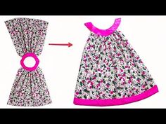 Girls Dresses Sewing, Sewing Baby Clothes, Toddler Girl Dresses, Little Girl Dresses, Baby Sewing, Girls Frock Design, Baby Dress Design, Baby Frocks Designs, Kids Frocks Design