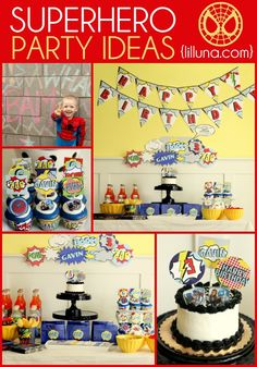 Superhero Birthday I
