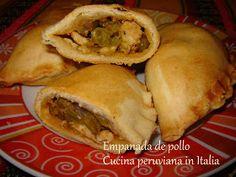 Cucina peruviana in Italia: EMPANADA DE POLLO