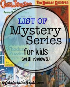 11 Mystery Series for Kids | Le Chaim (on the right)