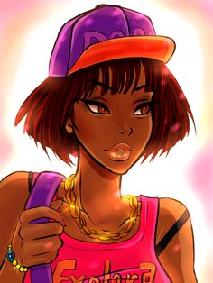Dark Skin Anime Characters and Other Goodies Dora the Explorer (Merch avaliable!) by Vivid-K