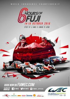 The FIA World Endurance Championship Series 6 Hours of Fuji, from Fuji Speedway