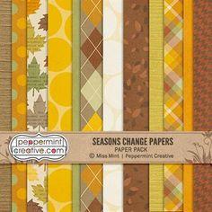 Seasons Change Paper