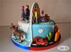 double sided cake - Szukaj w Google