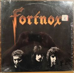 Fortnox / Self Titled / 3 Pc Band / Rick Fowler / Epic / RARE / Vinyl LP Record