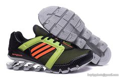 Mens Adidas Springblade V 5.5 Ignite Running Shoes Orange