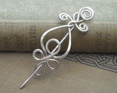 Little Celtic Sterling Silver Shawl Pin or by nicholasandfelice, $32.00