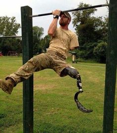 TRUE AMERICAN HEROES!!!! The next time you say you don't have the time nor the energy to go the gym, or walk the dog, remember this... This guy runs Tough Mudders and Spartan Races by himself if you need me, I'll be at the gym...no more excuses. - AWESOME!