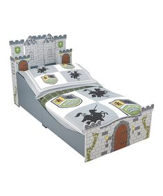 Another great find on #zulily! Medieval Castle Toddler Bed by KidKraft #zulilyfinds