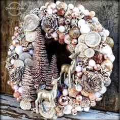 Christmas Advent Wreath, Christmas Candle, Pink Christmas, Merry Christmas, Christmas Decorations, Xmas, Holiday Decor, Deco Mesh Wreaths, Burlap Wreath